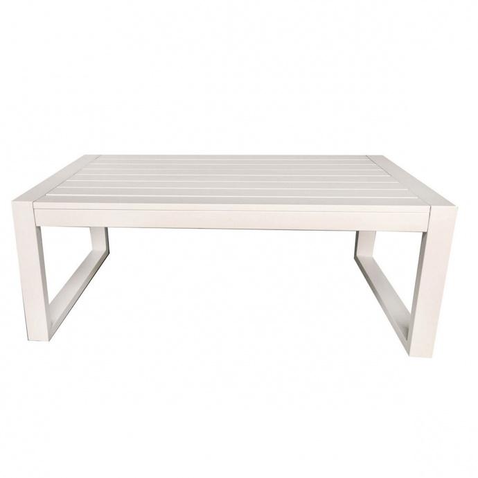Table basse esprit bord de mer (Blanc)