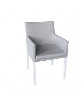 Chaise à manger en textilène