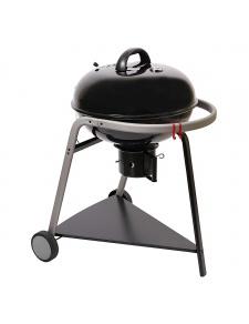 Barbecue à charbon de bois avec couvercle de cuisson