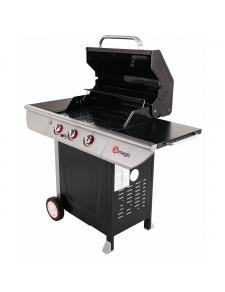 Barbecue à gaz avec couvercle de cuisson