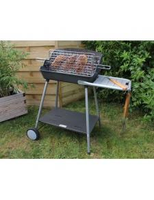 Barbecue à charbon avec grille foyère verticale