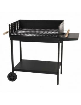 Barbecue à charbon de bois à double grilles