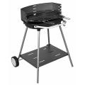 Barbecue à charbon avec plateforme de rangement (Acier)