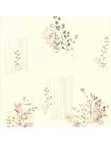 Papier peint LUTECE imprimé fleurs champêtres