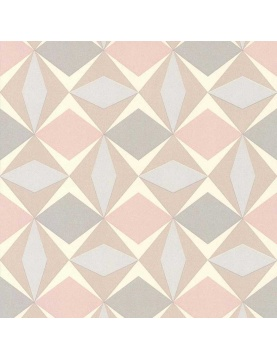 Papier peint LUTECE à motifs géométriques