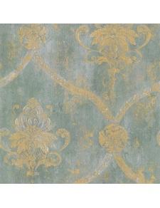 Papier peint LUTECE à médaillons vieillis
