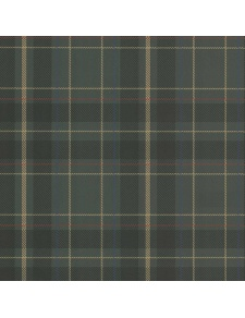 Papier peint LUTECE impression tissu écossais