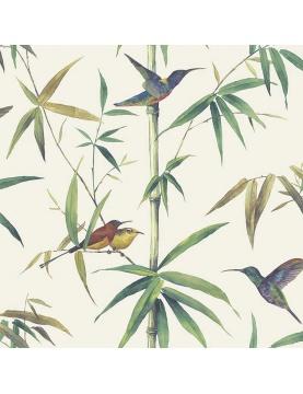 Papier peint LUTECE imprimé colibris