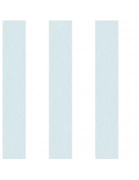 Papier peint LUTECE à rayures bicolores