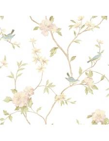 Papier peint LUTECE impressions oiseaux sur branchages