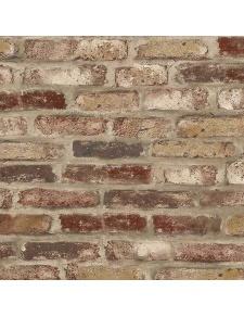 Papier peint LUTECE imitation brique