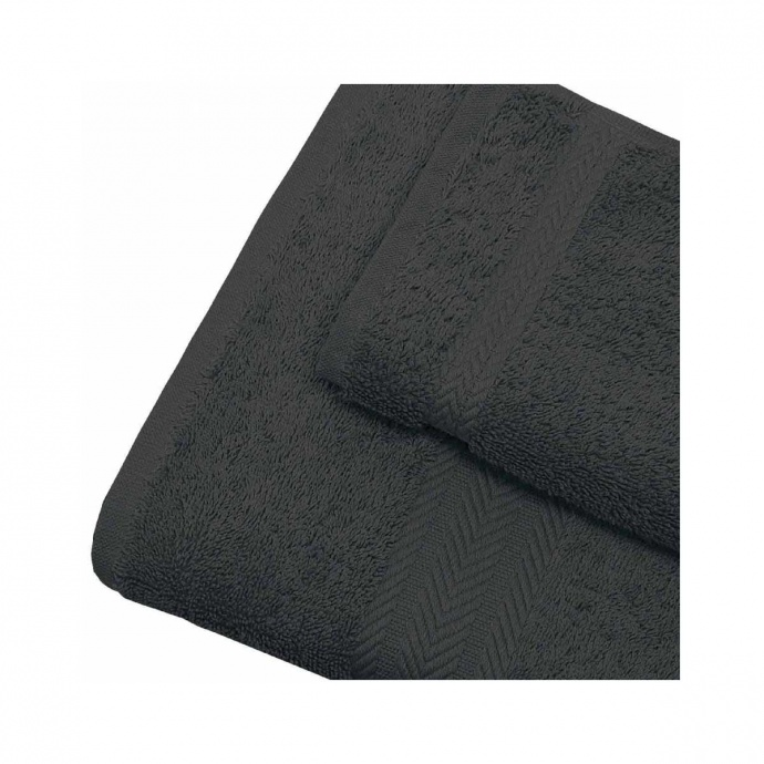 Linge de bain en coton 550gr/m² anthracite (Antharcite)