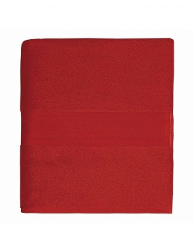 Drap de douche en coton 550gr/m² rubis