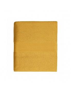 Drap de douche en coton 550gr/m² safran