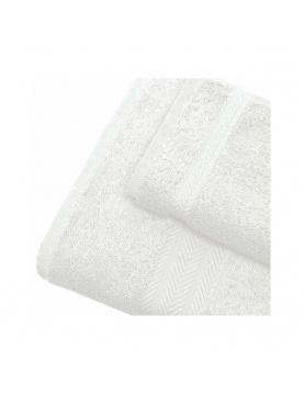 Linge de bain en coton 550gr/m² blanc