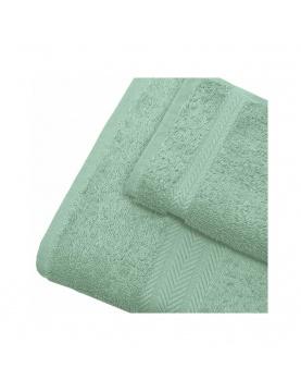 Linge de bain en coton 550gr/m² céladon