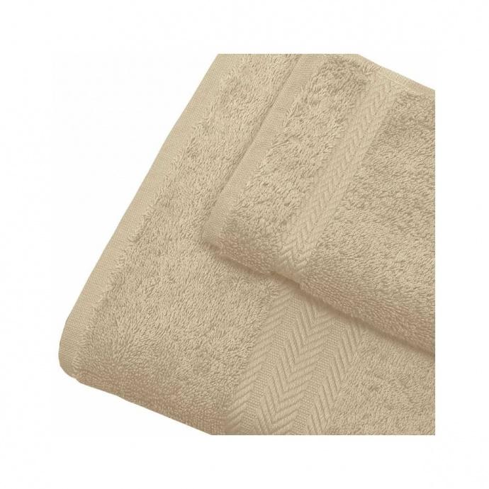 Linge de bain en coton 550gr/m² ficelle (Ficelle)