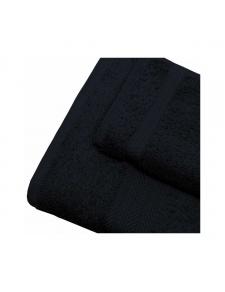 Linge de bain en coton 550gr/m² noir