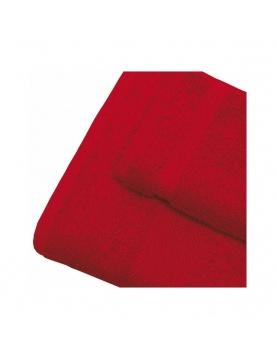 Linge de bain en coton 550gr/m² rubis