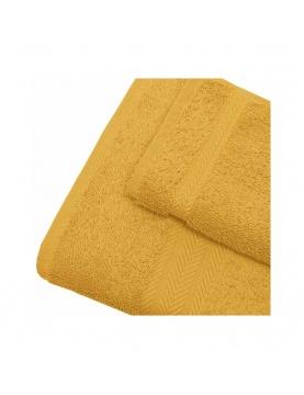 Linge de bain en coton 550gr/m² safran