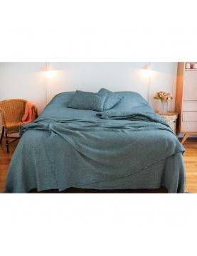 Dessus de lit à effet délavé