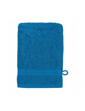 Gant de toilette 16 x 22 cm en Coton couleur Océan