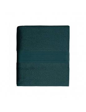 Maxi drap de bain en coton de 550gr/m² pétrol