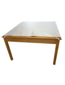 Protège table carré ou rectangulaire réversible