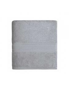 Serviette de toilette en coton de 550gr/m² gris perle