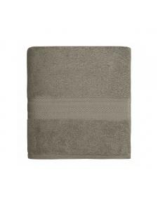 Serviette de toilette en coton 550gr/m² mastic