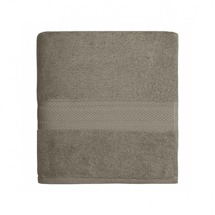 Serviette de toilette en coton 550gr/m² mastic (Mastic)