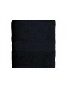 Serviette de toilette en coton 550gr/m² noir