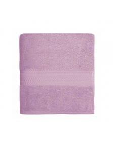 Serviette de toilette en coton 550gr/m² parme