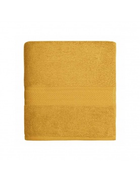 Serviette de toilette en coton 550gr/m² safran