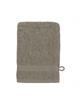 Gant de toilette en coton 550gr/m² mastic