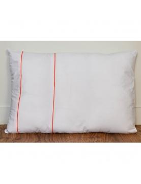 Taie d'oreiller à fines rayures colorées