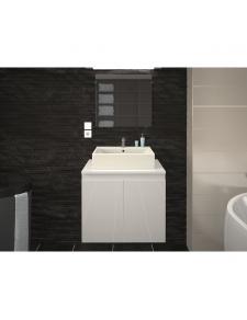 Meuble de salle de bain en 60 cm avec vasque