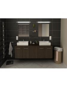 Ensemble de salle de bain à double vasques