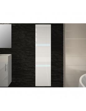 Colonne salle de bain 3 portes avec leds