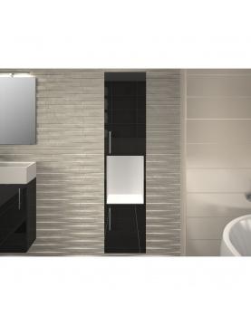 Colonne salle de bain avec 2 portes et une niche