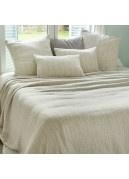 Dessus de lit en tissus jacquard