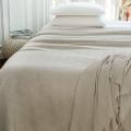 Dessus de lit tissage jacquard  (Ficelle)