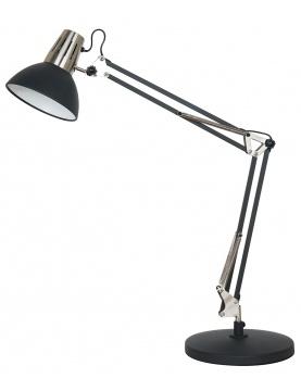 Lampe d'Architecte en Métal Sablé
