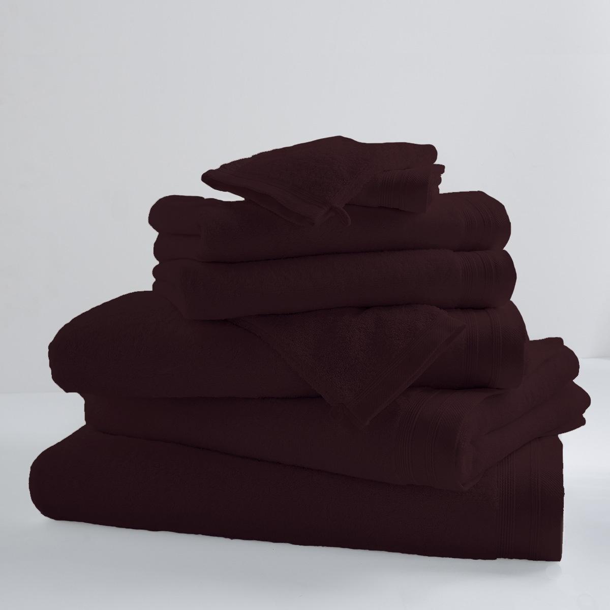 Drap De Bain Uni et Coloré (cacao)