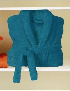 Peignoir de Bain Uni et Coloré (Turquoise)