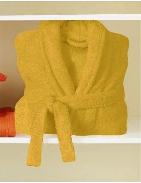 Peignoir de Bain Uni et Coloré (Banane)