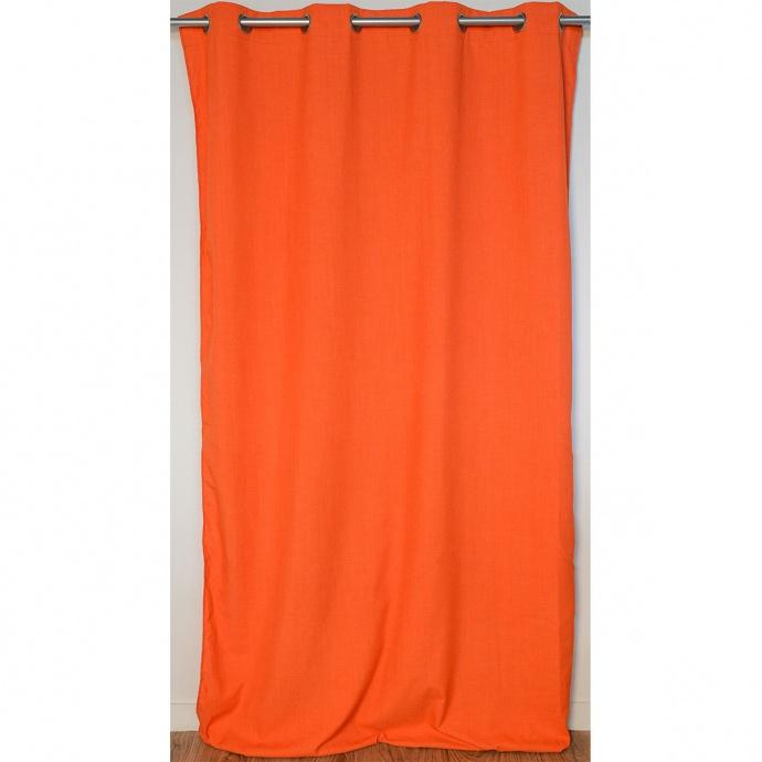 Rideau Cossu et Authentique (Orange)
