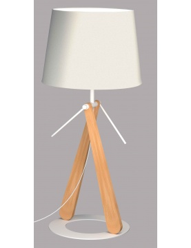 Lampe à Poser sur Socle Circulaire