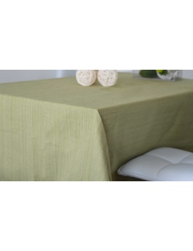 Mantel rectangular de algodón 100% reciclado