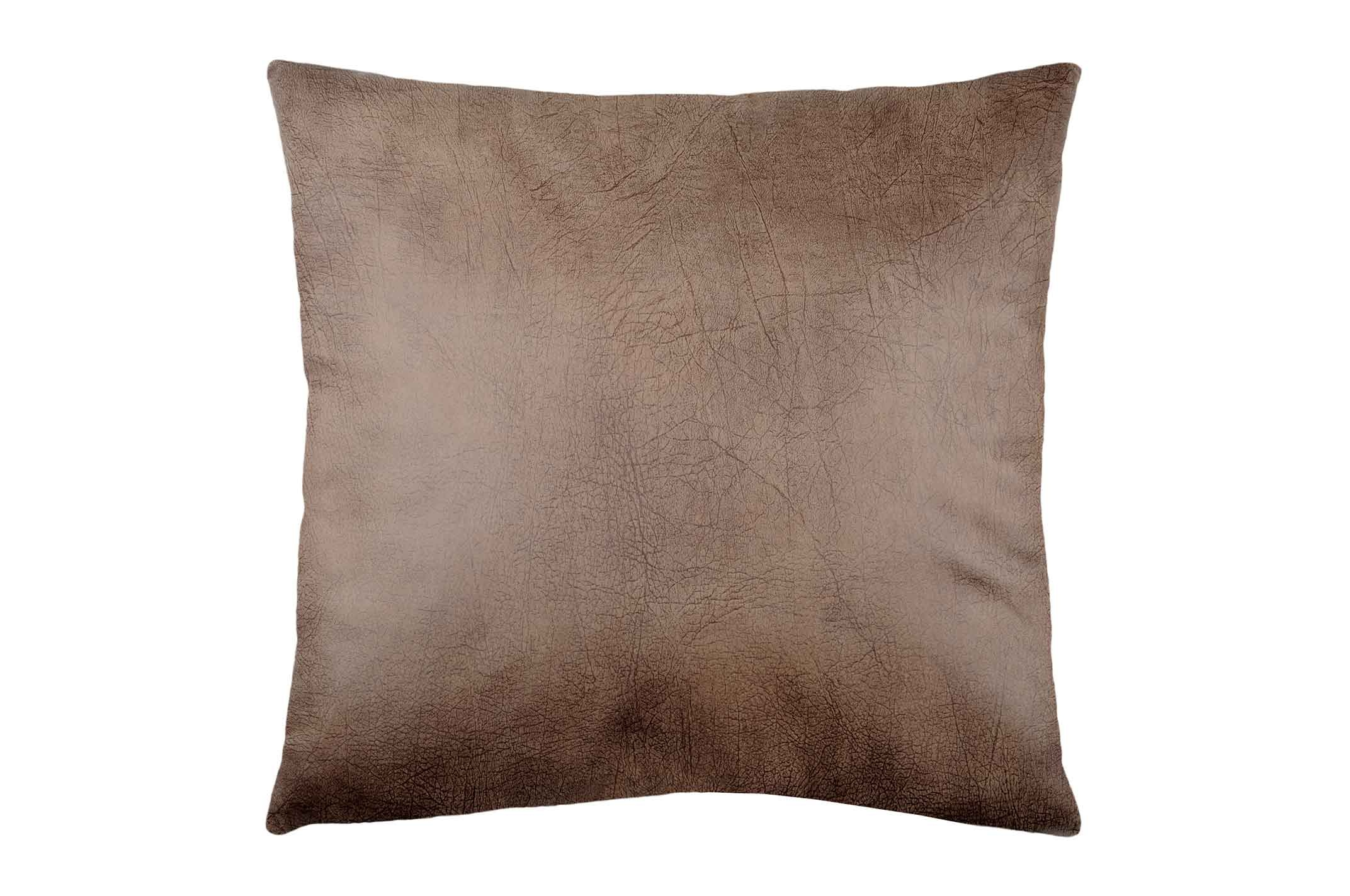 Coussin Effet Cuir